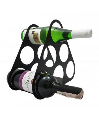 Stojak na wino na 5 butelek