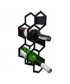 Wieszak na wino na 5 butelek - PLASTER