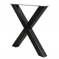 Nogi metalowe do stołu loft industrial 75x72cm