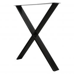 Nogi metalowe do stołu loft industrial 79 x 72 cm