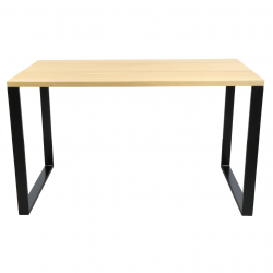Stół biurko typu loft drewno metal stabilne
