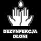 Bezdotykowy dozownik płynu do dezynfekcji rąk stand