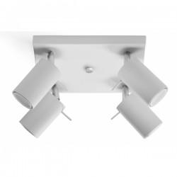 SOLLUX Elegancka Lampa Sufitowa Spot Plafon RING 4 biały LED!