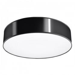 SOLLUX Piękny Efekt - Lampa Sufitowa Plafon ARENA 45 Czarna