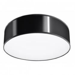 SOLLUX Nowoczesna Lampa Sufitowa Okrągły Plafon ARENA 35 Czarna