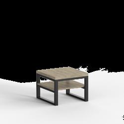 Stolik kawowy LARGO LOFT blat płyta meblowa laminowana