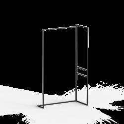 Wieszak loft WING 100x175 z metalu