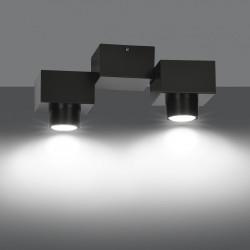 OPTIX 2A BLACK 822/2A lampa sufitowa nowoczesna spot