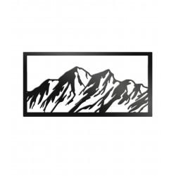 Dekoracja ścienna - Góry