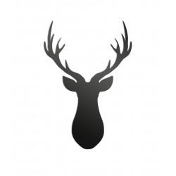 Dekoracja ścienna - Jeleń