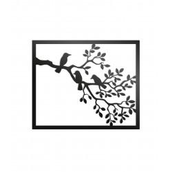 Dekoracja ścienna - Ptaki na gałęzi