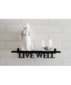 """Półka """"LIVE WELL"""""""